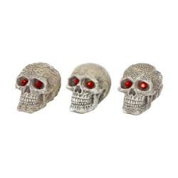 Penn Plax Deco Replica Skull Gazer 3 inch