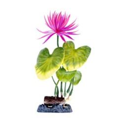 Penn Plax Sinker Plant Water Lily Red - Medium