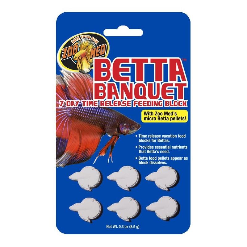 Zoo Med Betta Banquet 7 day