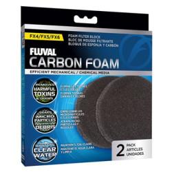 Fluval fx4/fx5/fx6 Carbon Foam Pads - 2 pack