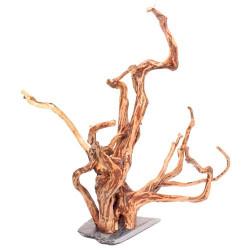 Aquarium Wood Roots on rock- Medium