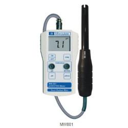 MILWAUKEE MW801 Standard Portable pH / Conductivity / TDS Combination Meter