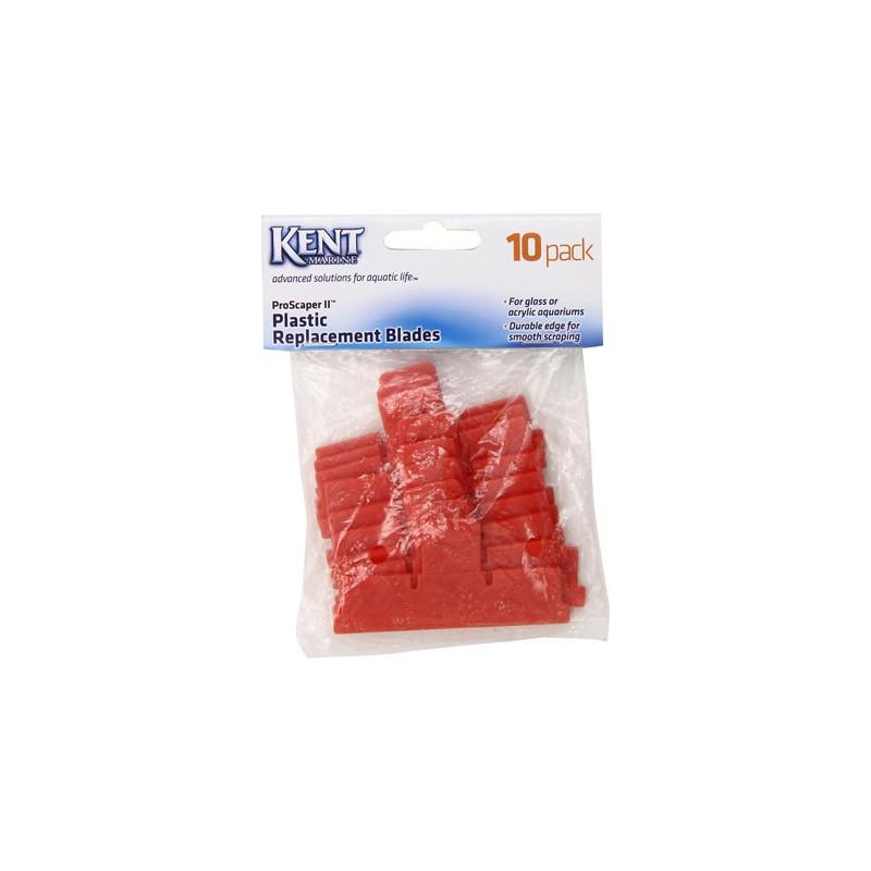 Kent Pro Scraper Replacement Plastic Blade - 10 Pack